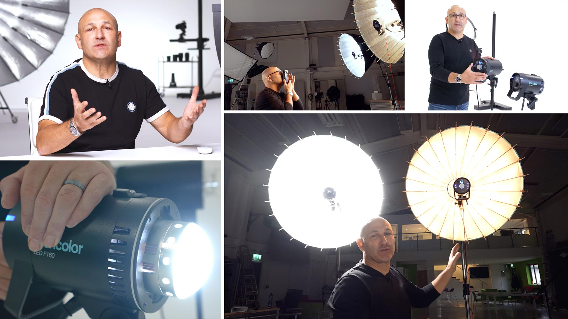 Flash lighting vs continuous LED lighting