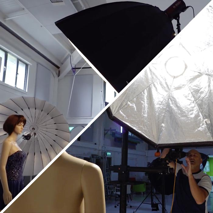 Lighting comparison: parabolic softbox vs regular Broncolor softbox