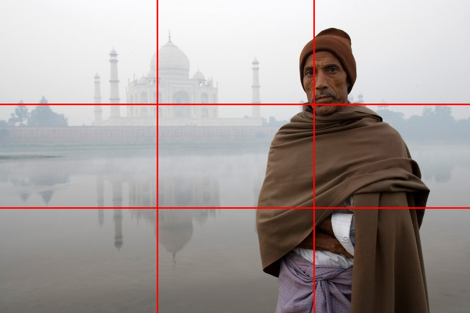 Example of rule of thirds composition