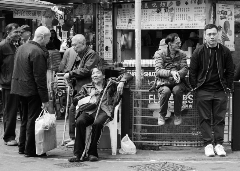 An image of street photography by Michael Byrne