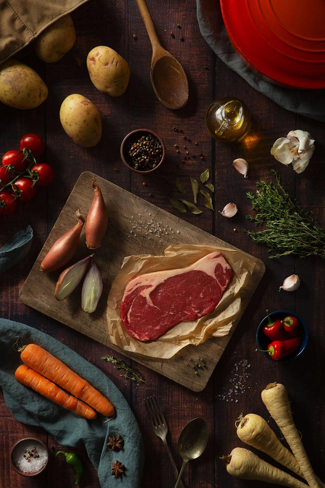 A flat lay image by Pete Harper