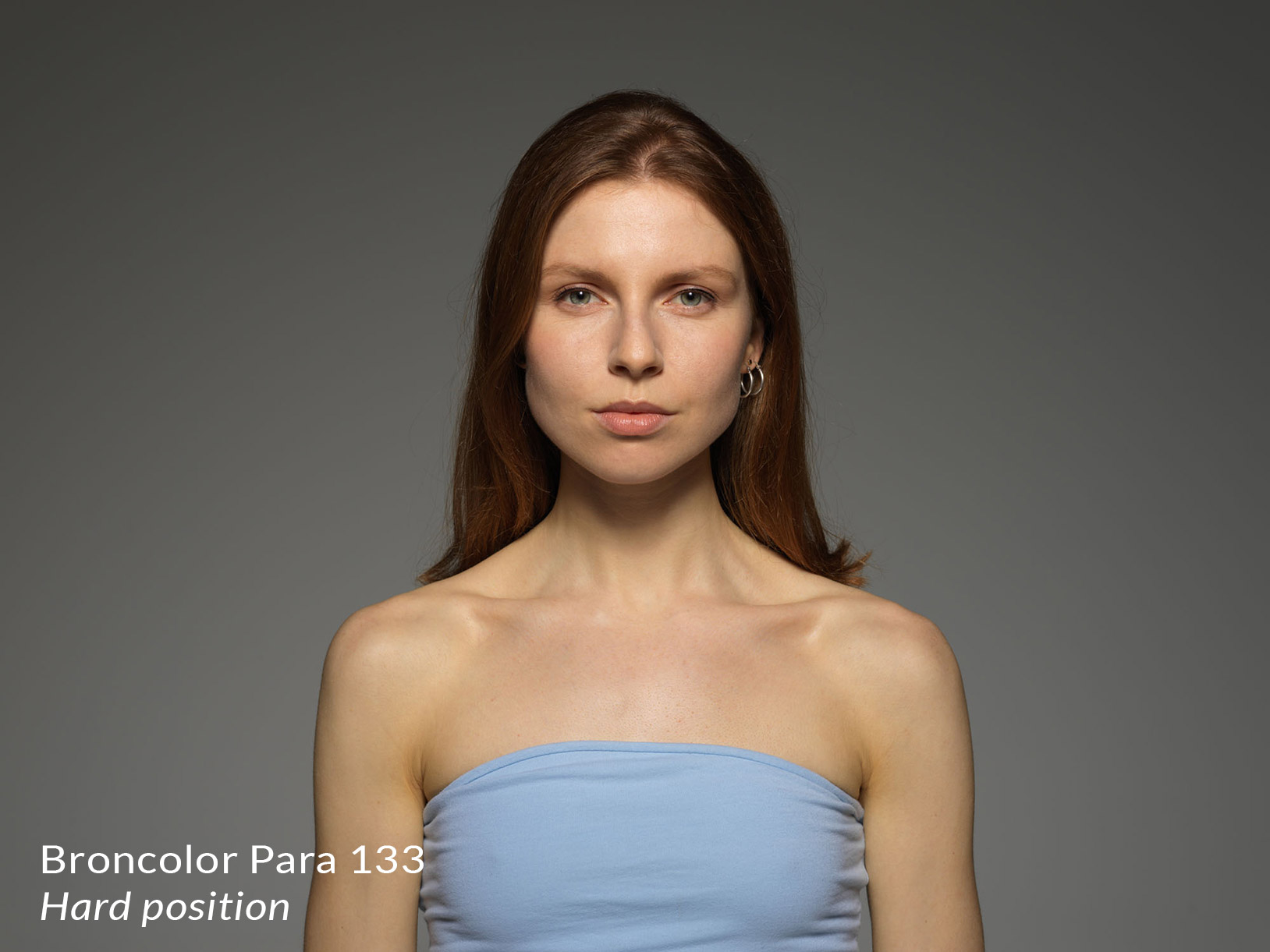 Lighting from broncolor para 133 in the hard position