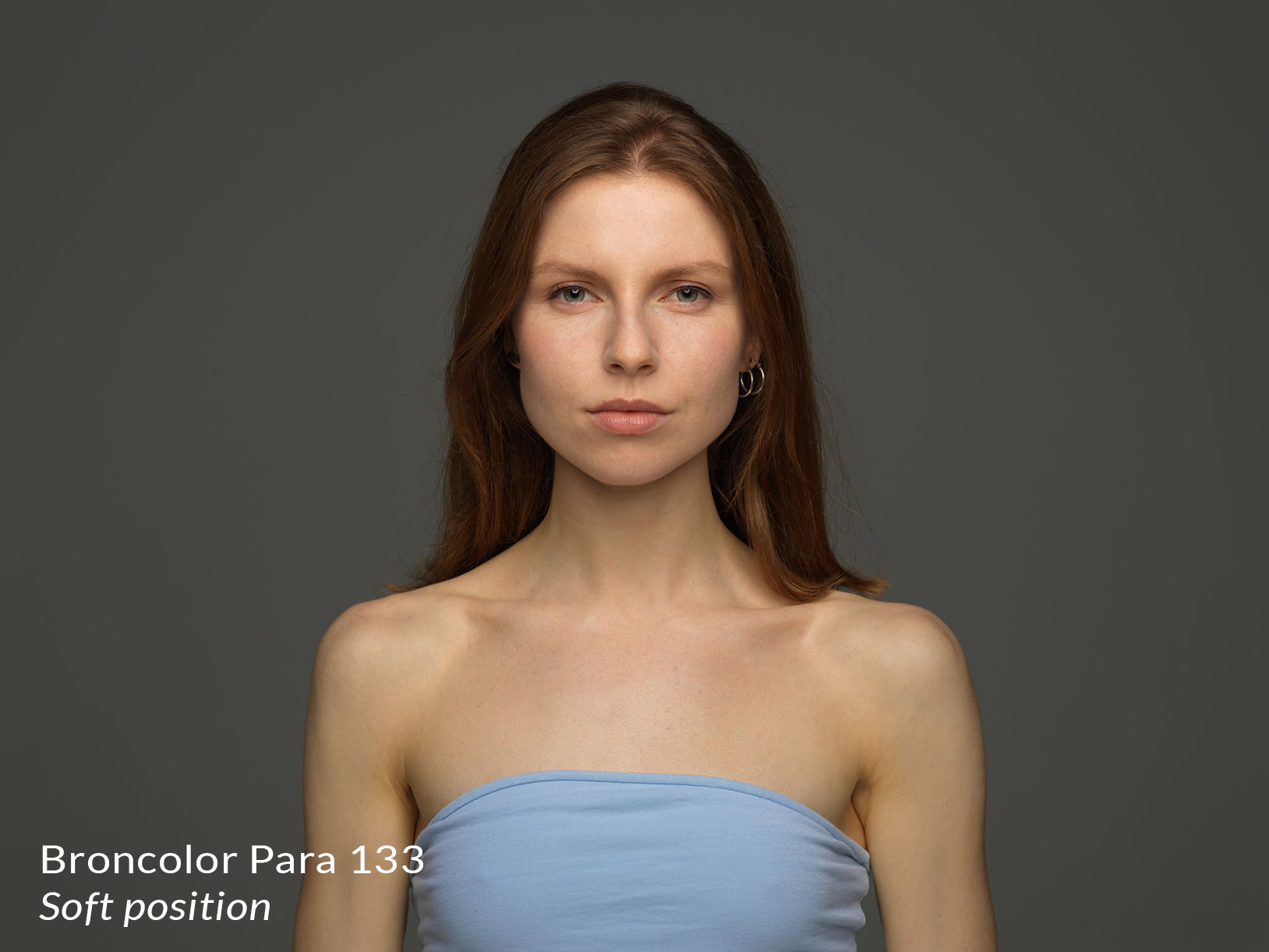 Lighting from broncolor para 133 in the soft position