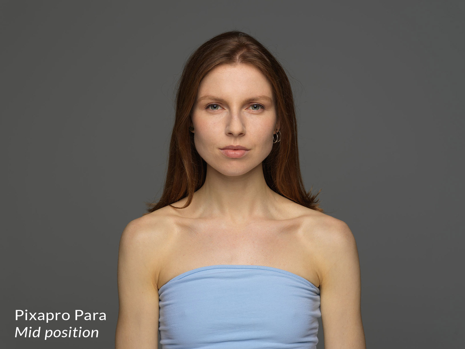 Lighting from a Pixapro parabolic reflector in the mid position