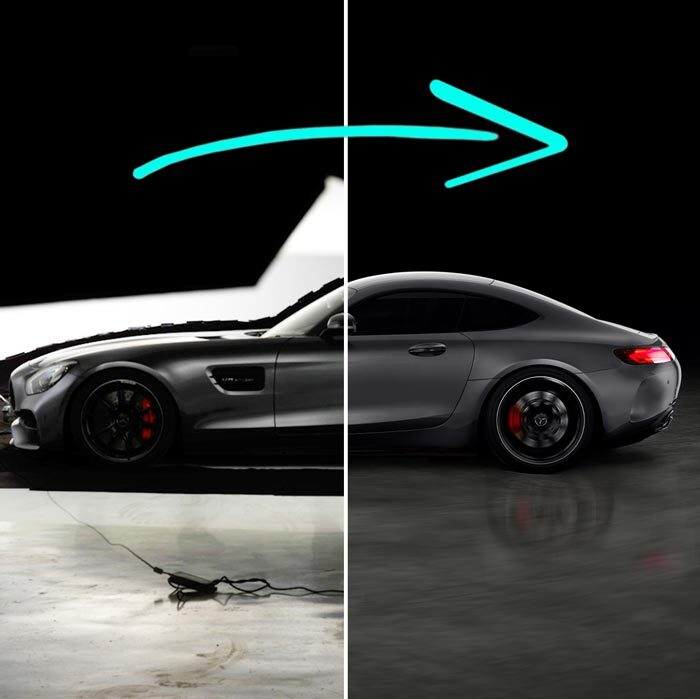 Professional Car Photography – Side View Post-Production