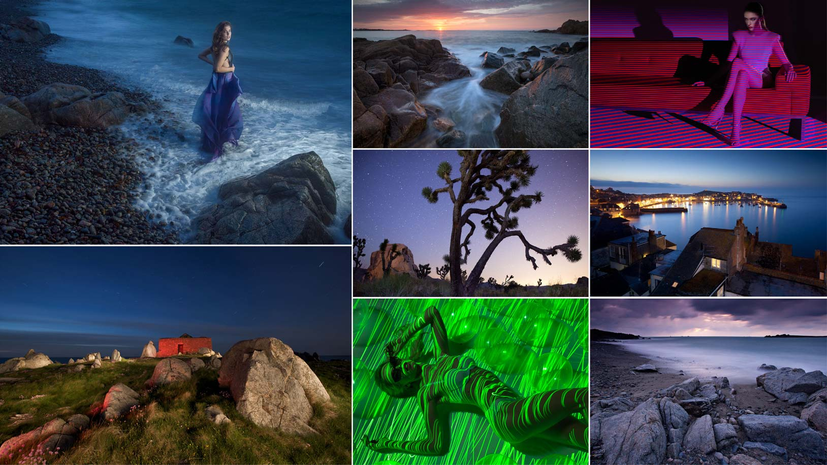 Selection of long exposure ideas