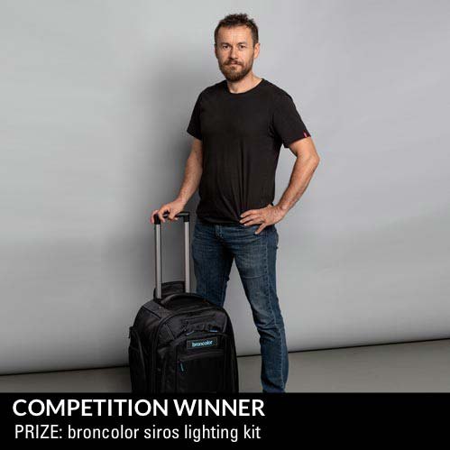 Competition Winner - Prize broncolor siros kit
