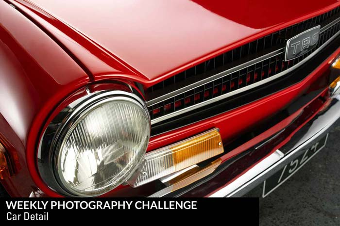 Weekly Photography Challenge - Car Detail