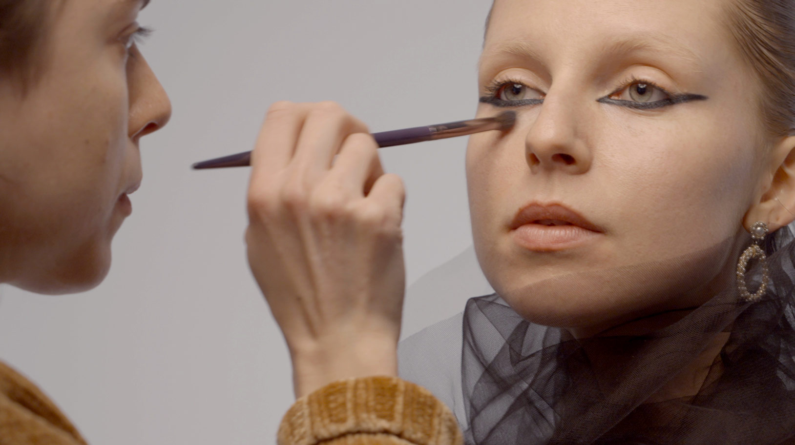 Makeup for fashion photography