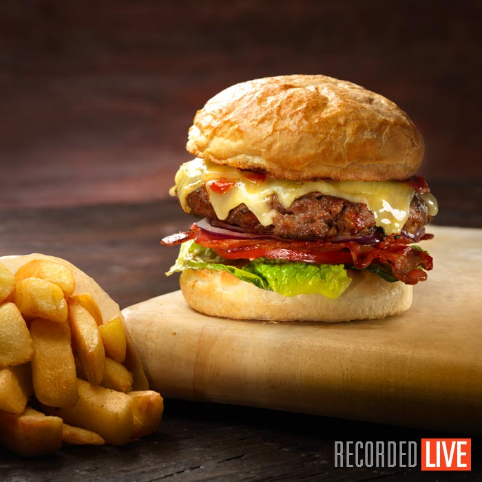 Styling & Shooting Burger Photography