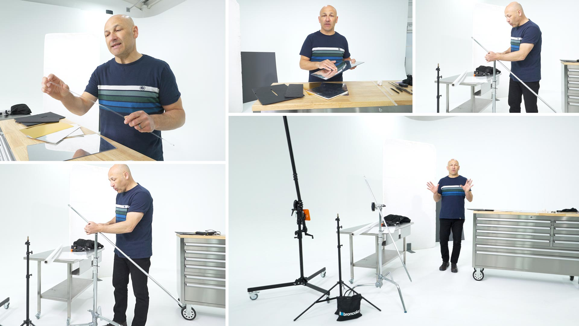 Helpful Studio Kit For Product Photography