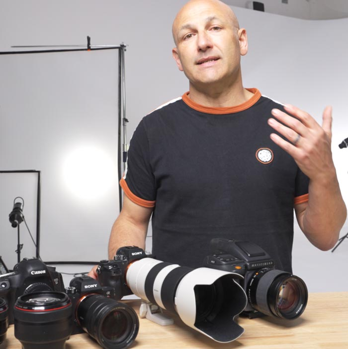 Camera & Lenses For Product Photography
