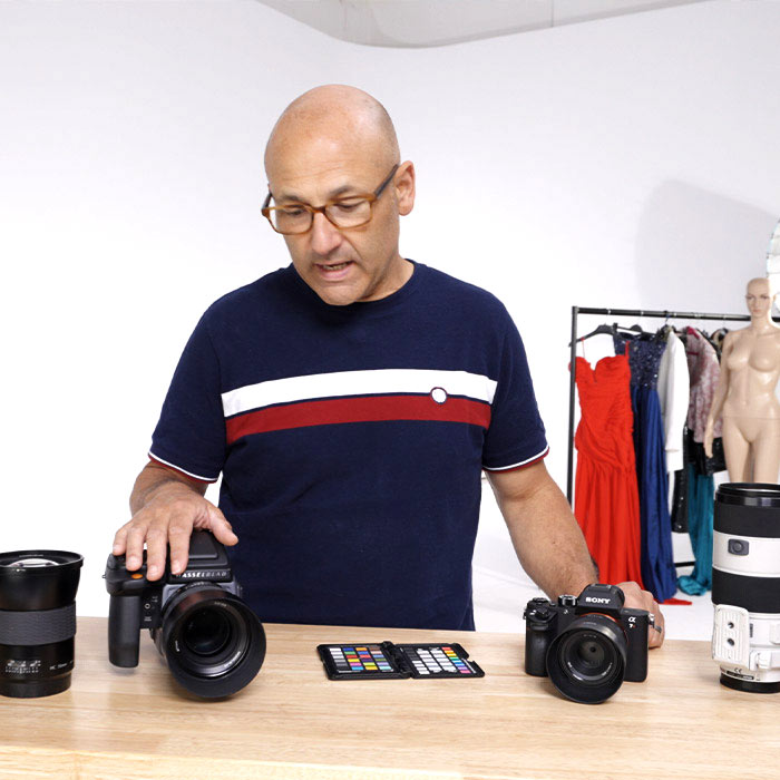 Cameras and Lenses for Fashion photography